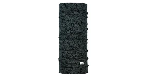 P.A.C. Merino Wool Multifunktionstuch Paisley Black